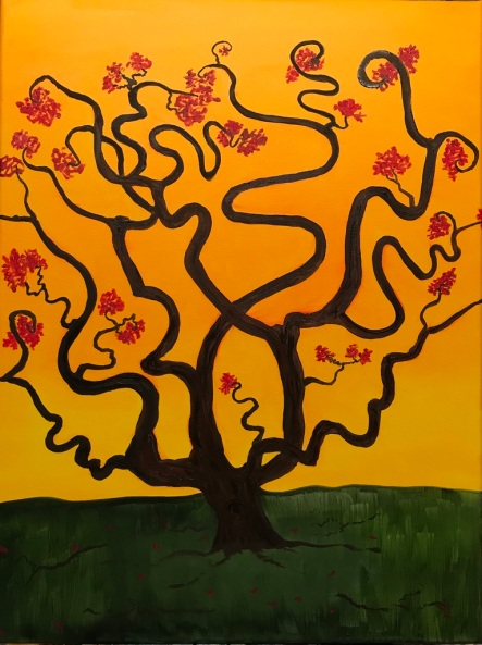 Curly Tree(18x24)