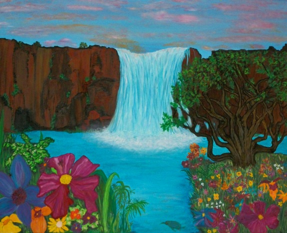 waterfallpainting